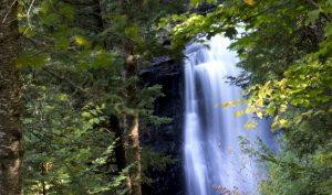 Waterfall, Michigan's Upper Peninsula