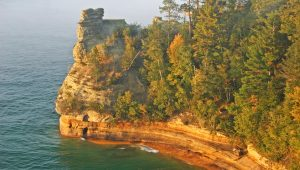 Pictured Rocks National Lakeshore, Michigan's Upper Peninsula